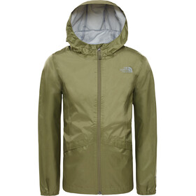 The North Face Zipline Rain Jacket Girls four leaf clover